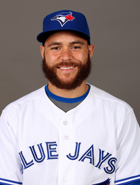 Russell Martin - 2018 Dark Brown hair & alternative hair style. Current length:  near-shaved Hair