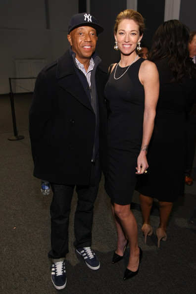 Elaine Irwin and Russell Simmons