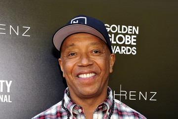 Russell Simmons Art for Amnesty Pre-Golden Globes Recognition Brunch