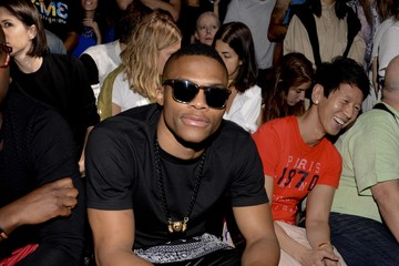 Russell Westbrook MBFW: Front Row at the Opening Ceremony