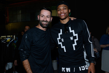 Russell Westbrook Marcelo Burlon County of Milan - Backstage - Milan Collections Men SS16