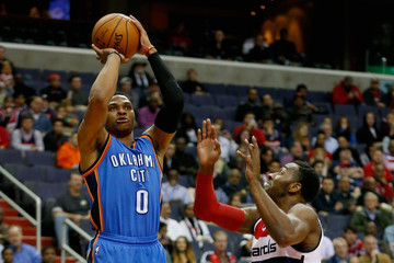 Russell Westbrook Oklahoma City Thunder v Washington Wizards