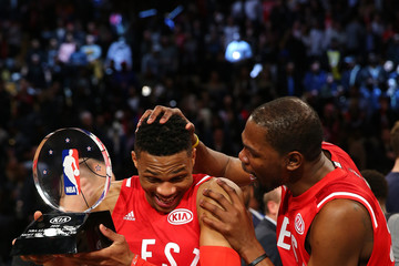 0b587c879985 Russell Westbrook Kevin Durant NBA All-Star Game 2016
