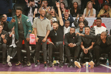 Russell Westbrook Celebrities Attend the 2018 State Farm All-Star Saturday Night
