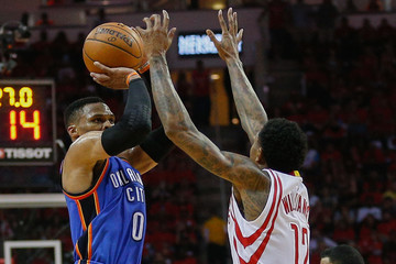 Russell Westbrook Oklahoma City Thunder v Houston Rockets - Game Five