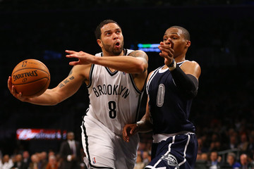 Russell Westbrook Oklahoma City Thunder v Brooklyn Nets