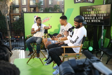 Russell Westbrook Mtn Dew Kickstart Brings Fan Closer Than Courtside at Courtside Studios During All-Star Weekend