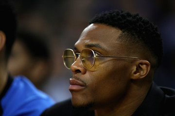 Russell Westbrook Oklahoma City Thunder vs. Golden State Warriors