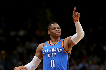 Russell Westbrook Oklahoma City Thunder v Denver Nuggets