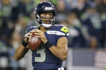 Russell Wilson Indianapolis Colts vSeattle Seahawks
