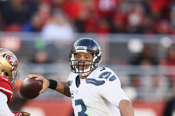 Russell Wilson Seattle Seahawks v San Francisco 49ers