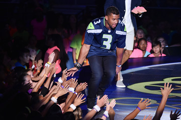 Russell Wilson The Nickelodeon Kids' Choice Sports Awards 2015