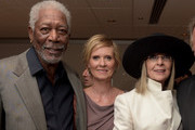Cynthia Nixon and Morgan Freeman Photos Photo