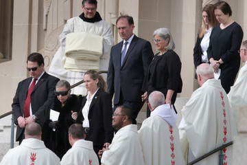 Ruth Bader Ginsburg Elena Kagan Funeral for Supreme Court Justice Scalia Antonin Scalia Held in Washington, D.C.