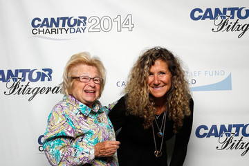 Ruth Westheimer Edie Lutnick Annual Charity Day Hosted By Cantor Fitzgerald And BGC - Cantor Fitzgerald Office - Arrivals