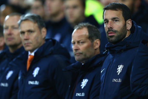 Wales v Netherlands - International Friendly [team,coach,player,team sport,championship,manager,danny blind,marco van basten,assistant coach,ruud van nistelrooy,r,c,wales,netherlands,cardiff city stadium,friendly]