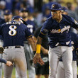 Ryan Braun League Championship Series - Milwaukee Brewers vs. Los Angeles Dodgers - Game Three