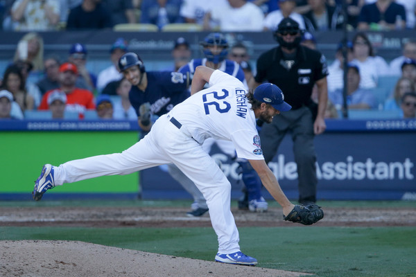 League Championship Series - Milwaukee Brewers vs. Los Angeles Dodgers - Game Five