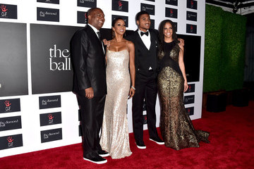 Ryan Elizabeth Peete Rihanna and the Clara Lionel Foundation Host 2nd Annual Diamond Ball - Arrivals