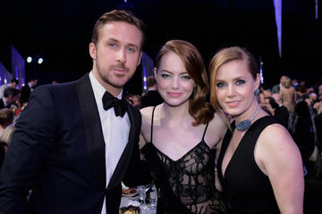 Ryan Gosling Emma Stone The 23rd Annual Screen Actors Guild Awards - Roaming Show