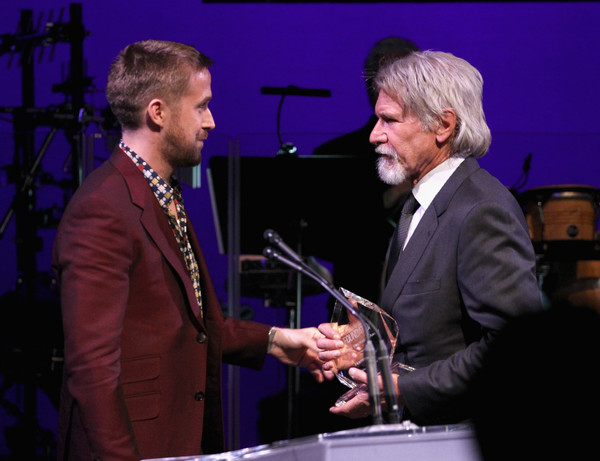 SAG-AFTRA Foundation's 3rd Annual Patron of the Artists Awards [event,speech,music,award,performance,conversation,musician,harrison ford,r,ryan gosling,artists inspiration award,beverly hills,california,wallis annenberg center for the performing arts,sag-aftra foundations 3rd annual patron of the artists awards]