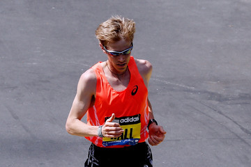 Ryan Hall General Views of the Boston Marathon