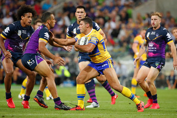 Ryan Hall Storm v Rhinos - World Club Challenge