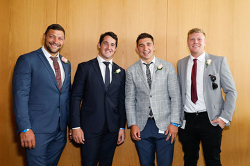 Ryan Hall Celebrities Attend Moet And Chandon Spring Champion Stakes Day