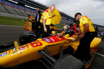 Ryan Hunter-Reay Texas Motor Speedway - Day 2