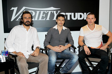 Ryan Kwanten Ivan Sen Keanu Reeves Arrives at the Variety Studio