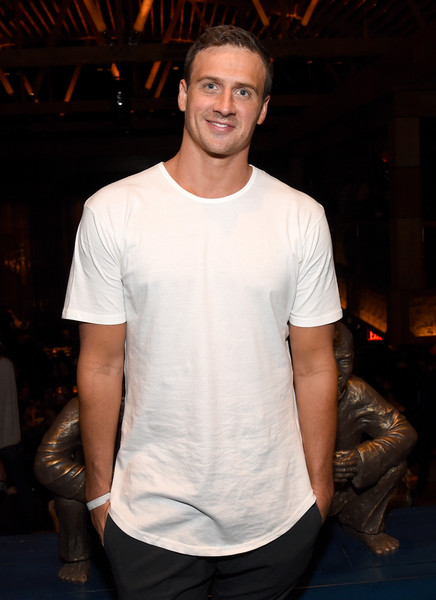 TAO, Beauty & Essex, Avenue and Luchini LA Grand Opening - Day 3 [tao,ryan lochte,t-shirt,white,clothing,fashion,cool,human,shoulder,muscle,facial hair,chest,luchini la grand opening,avenue,beauty essex,california,los angeles]
