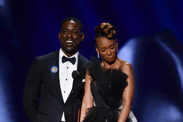 Ryan Michelle Bathe Sterling K. Brown BET Presents The 51st NAACP Image Awards - Show