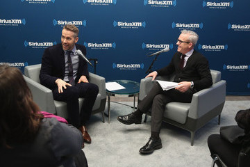 Ryan Reynolds Jess Cagle SiriusXM's 'Entertainment Weekly Radio Special' With Ryan Reynolds