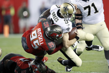 Ryan Russell New Orleans Saints v Tampa Bay Buccaneers