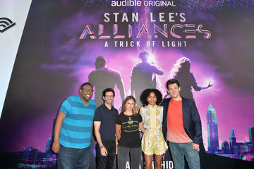 Ryan Silbert Actress Yara Shahidi Visits Audible's 'Stan Lee's Alliances: A Trick of Light' Experience At San Diego Comic-Con