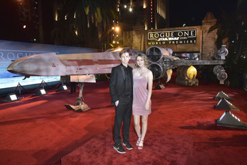 Ryan Simpkins The World Premiere of 'Rogue One: A Star Wars Story'