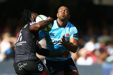 S'Busiso Nkosi Super Rugby Rd 2 - Sharks vs. Waratahs
