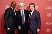 (L-R) Courtney B. Vance, Norman Lear, and Willem Dafoe attend the SAG-AFTRA Foundation's 4th Annual Patron of the Artists Awards at Wallis Annenberg Center for the Performing Arts on November 07, 2019 in Beverly Hills, California.