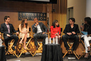 (L-R) Greg Rikaart, Melissa Claire Egan, Redaric Williams, Kate Linder, Daniel Goddard and moderator Pat Harvey participate in the 40 years of 'The Young and The Restless' celebration and panel discussion presented by SAG-AFTRA at SAG-AFTRA on June 4, 2013 in Los Angeles, California.