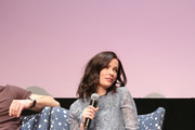 """Actress Bitsie Tulloch speak at the """"Grimm"""" event during aTVfest 2016 presented by SCAD on February 7, 2016 in Atlanta, Georgia."""