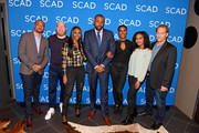 "Damon Gupton, Marvin ""Krondon"" Jones III, Nafessa Williams, Cress Williams, Christine Adams, China Anne McClain, and James Remar attend a screening and Q&A for 'Black Lightning' on Day 3 of the SCAD aTVfest 2018 on February 3, 2018 in Atlanta, Georgia."