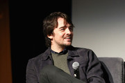 """Actor Vincent Piazza speaks onstage at """"The Passage"""" screening during SCAD aTVfest 2019 at SCADshow on February 8, 2019 in Atlanta, Georgia."""