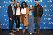 "(L-R) Mike Daniels, Michaela McManus, Lorraine Toussaint, Grace Van Dien and Warren Christie attend the ""The Village"" screening during SCAD aTVfest 2019 at SCADshow on February 9, 2019 in Atlanta, Georgia."