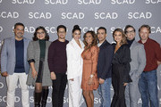 "(L-R) Carlos Gomez , Belissa Escobedo, David Del Rio, Michelle Veintimilla, Lisa Vidal, Victor Rasuk, Nathalie Kelley and Dan Bucatinsky attend the SCAD aTVfest 2020 - ""The Baker And The Beauty"" on February 28, 2020 in Atlanta, Georgia."