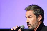 Eric McCormack attends SCAD aTVfest 2020 - In Conversation With Eric McCormack And Impact Award Presentation Press Junket on February 28, 2020 in Atlanta, Georgia.