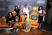 "Mishel Prada, Roberta Colindrez, Melissa Barrera, Ser Anzoategui and Chelsea Rendon attend SCAD aTVfest 2020 - ""VIDA"" on February 28, 2020 in Atlanta, Georgia."