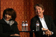 Andrea Martin and Martin Short attend a SCTV panel discussion in celebration of the 50th Anniversary of Second City at 1616 N. Wells Avenue on December 12, 2009 in Chicago, Illinois.