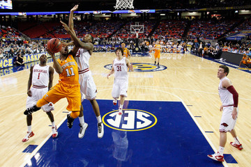 Delvon Johnson SEC Basketball Tournament - First Round