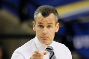Head coach Billy Donovan of the Florida Gators gestures during their game against the Tennessee Volunteers during the quarterfinals of the SEC Men's Basketball Tournament at Georgia Dome on March 11, 2011 in Atlanta, Georgia.