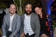 Jeff D. Johnson, Josh Radnor and Jennifer Lafleur attend the Cinema Tropicale Event on April 8, 2016 in Sarasota, Florida.